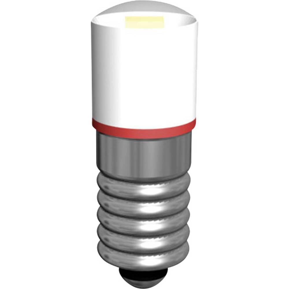 LED žarnica E5.5 bela 18 V/AC Signal Construct MWCE5563