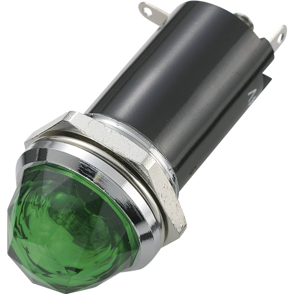 Signalna luč 12 V/DC zelena SCI vsebina: 1 kos