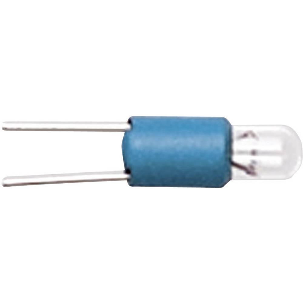 LED 3 V podnožje: Bi-Pin T 1 rumena RAFI vsebina: 1 kos