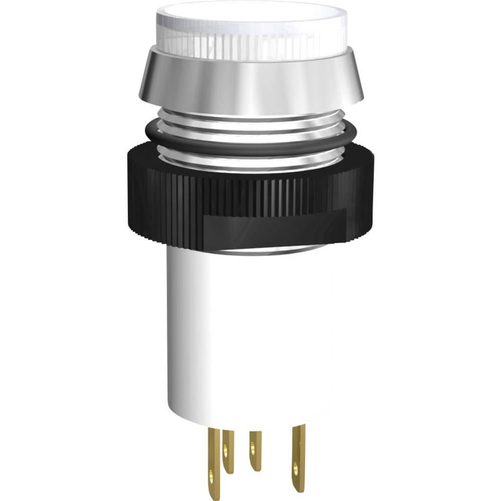 LED-flerfarvet signallampe Signal Construct SKCE16214 750/2100 mcd 24 V/DC 12.8 mA, 12.4 mA Rød, Grøn