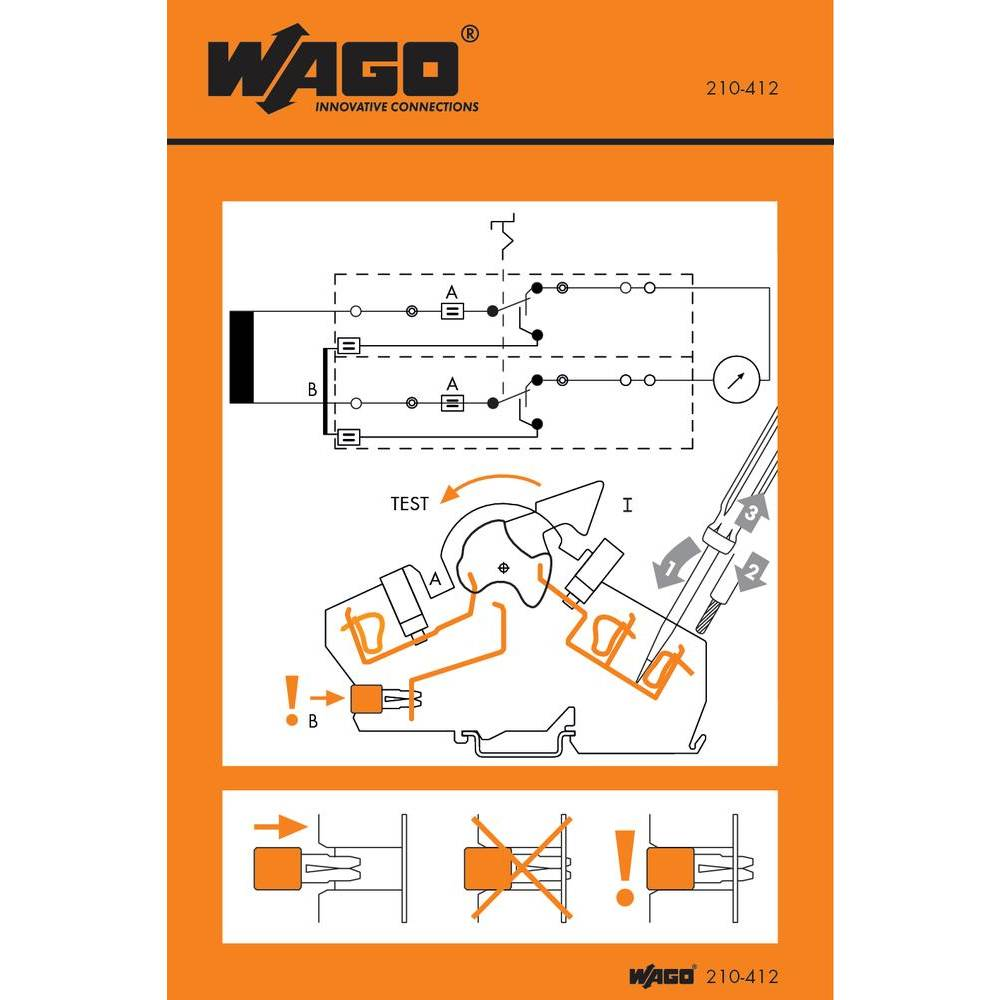 håndtering Stickers WAGO 1000 stk