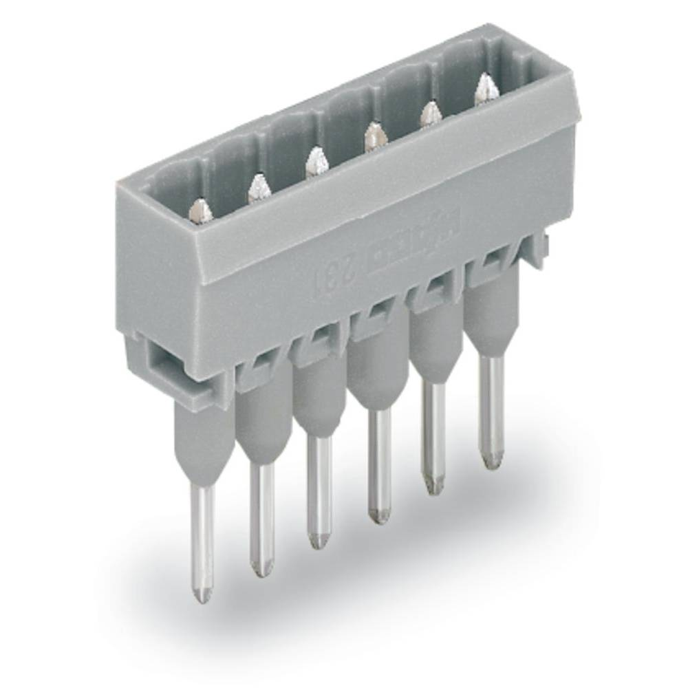 Pinski konektor (Standard) 300 št. polov skupaj 5 WAGO 231-165/003-000 mere: 5 mm 200 kosov