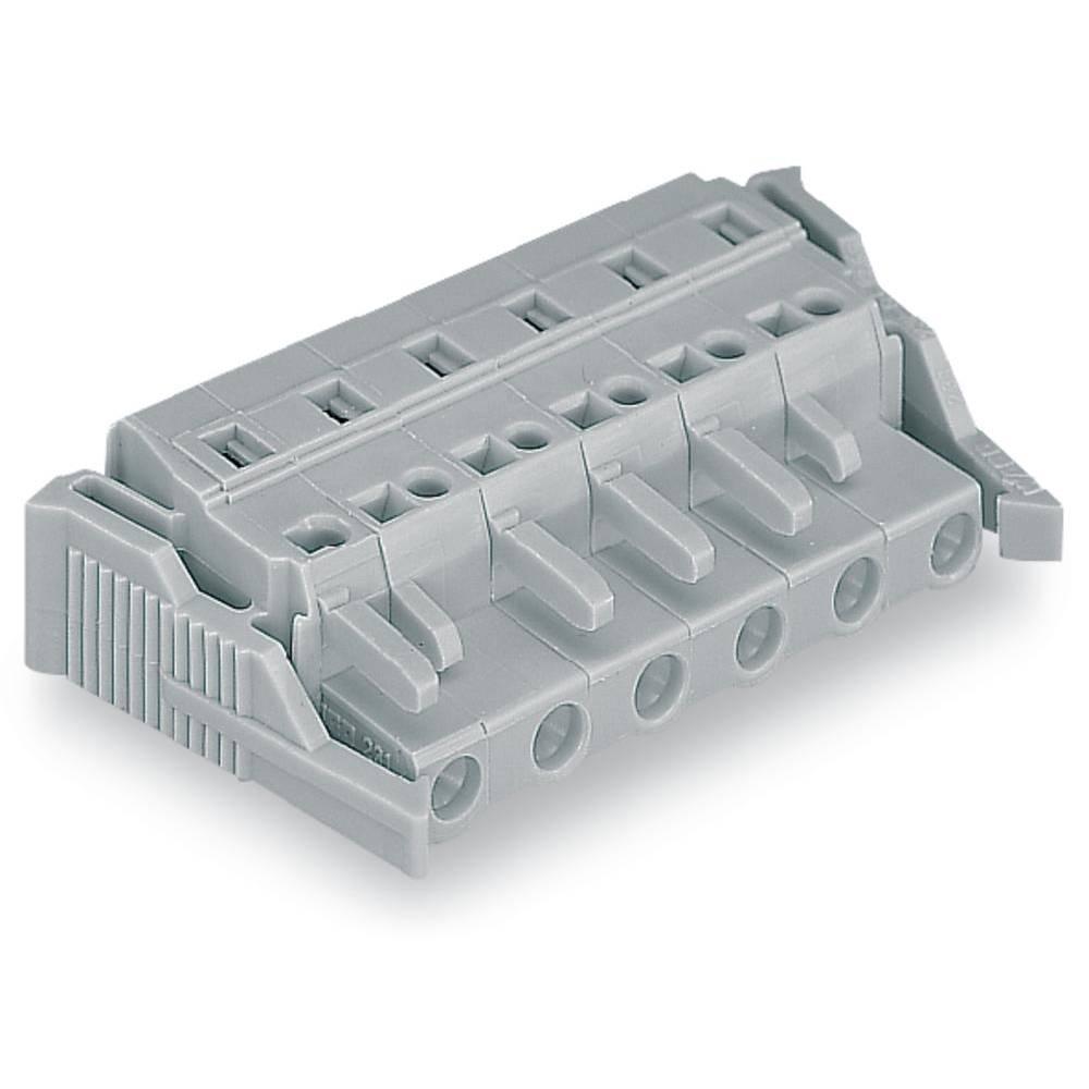 Tilslutningskabinet-kabel 231 (value.1360880) Samlet antal poler 9 WAGO 231-209/037-000 Rastermål: 7.50 mm 25 stk