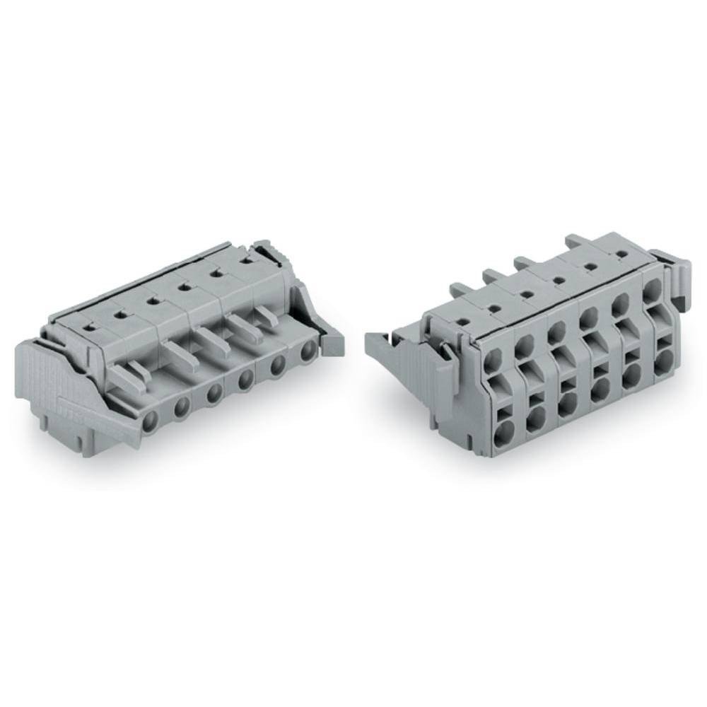 Tilslutningskabinet-kabel 231 Samlet antal poler 5 WAGO 231-2205/037-000 Rastermål: 7.50 mm 50 stk
