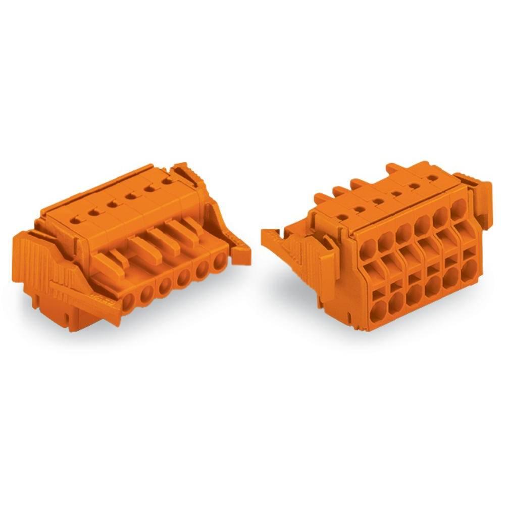 Tilslutningskabinet-kabel 231 (value.1360880) Samlet antal poler 16 WAGO 231-2316/037-000 Rastermål: 5.08 mm 10 stk