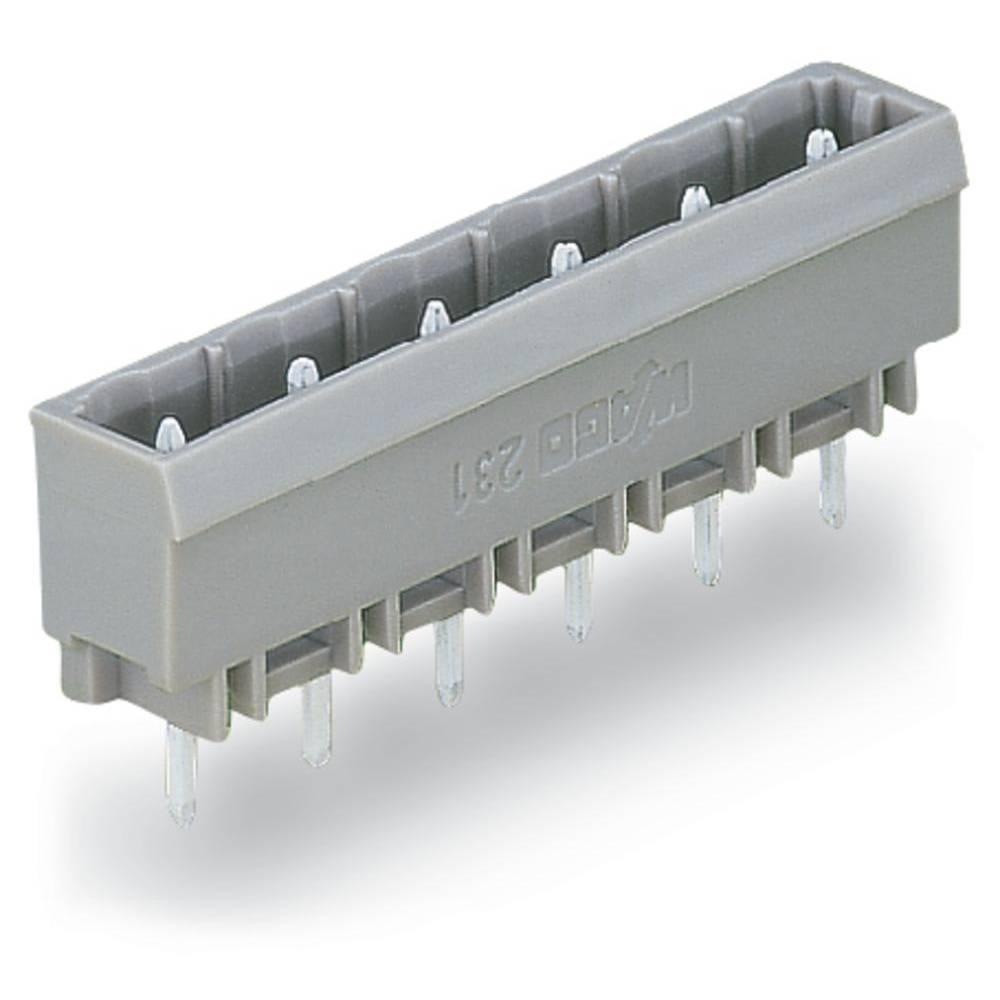 Pinski konektor (Standard) 300 št. polov skupaj 5 WAGO 231-235/001-000 mere: 7.50 mm 100 kosov