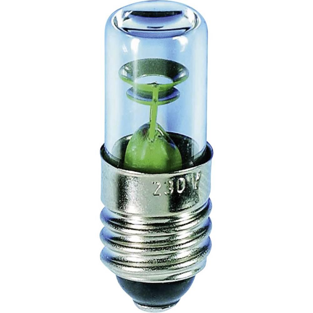 Tinjajuća žarulja 230 V 0.3 W 1.5 mA podnožje: E10 čista Barthelme sadržaj: 1 kom.
