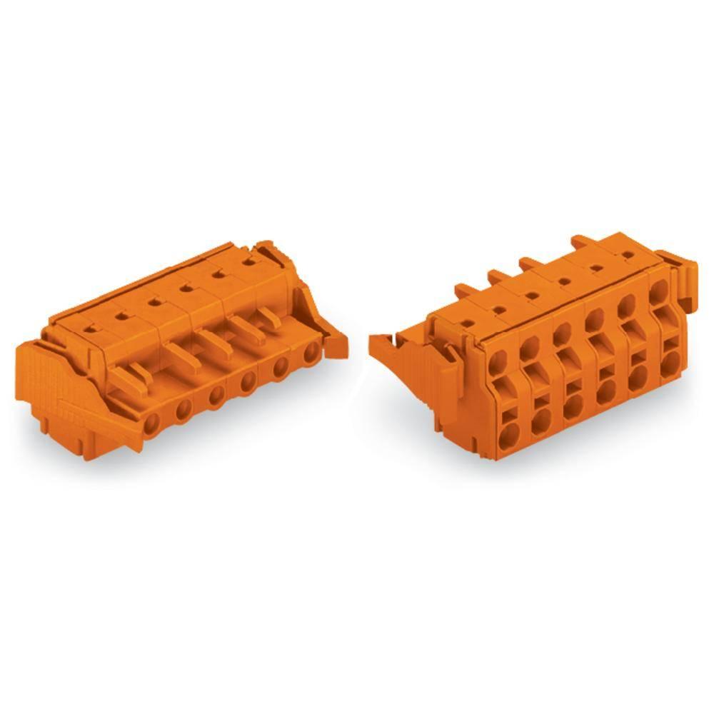 Tilslutningskabinet-kabel 231 (value.1360880) Samlet antal poler 3 WAGO 231-2703/037-000 Rastermål: 7.62 mm 50 stk