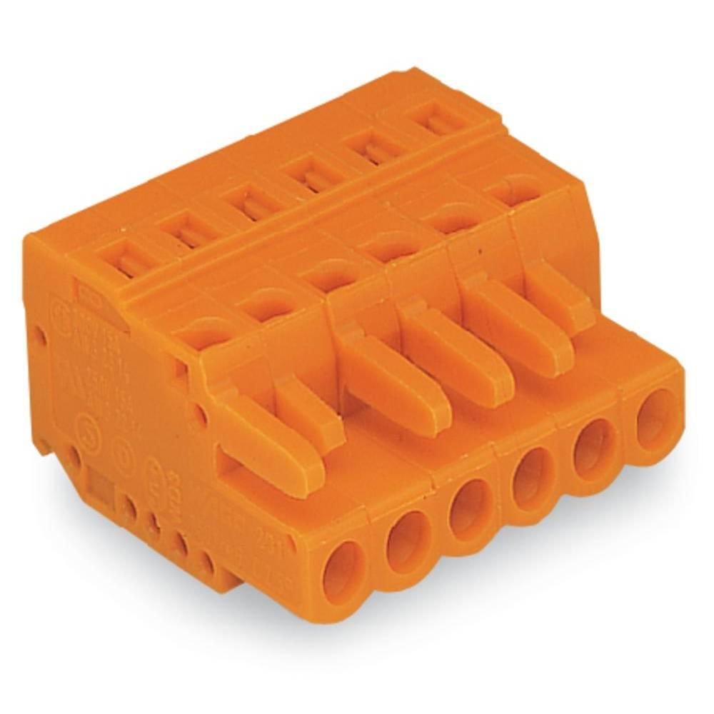 Ohišje vtičnice - kabel 231 WAGO 231-316/026-000 mere: 5.08 mm 25 kosov