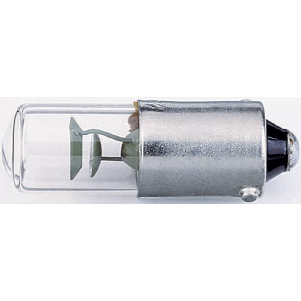 Tinjajuća žarulja 230 V 0,4 W 1.9 mA podnožje: BA9s čista Barthelme sadržaj: 1 kom.