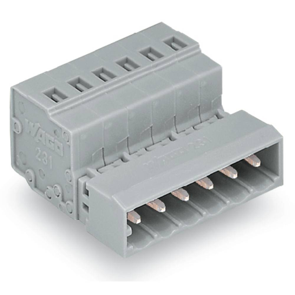 Pinski konektor (Standard) 300 št. polov skupaj 3 WAGO 231-603/032-000 mere: 5 mm 100 kosov