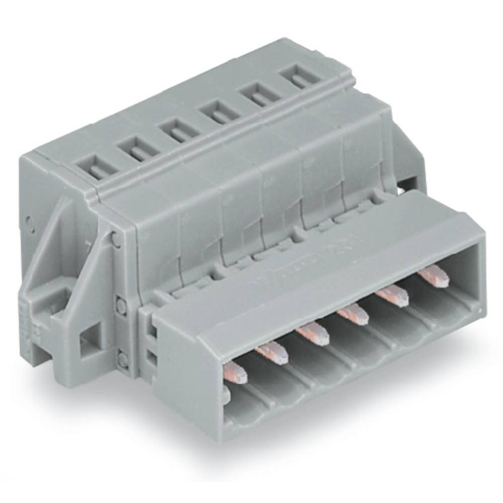 Pinski konektor (Standard) 300 št. polov skupaj 9 WAGO 231-609/019-000 mere: 5 mm 25 kosov