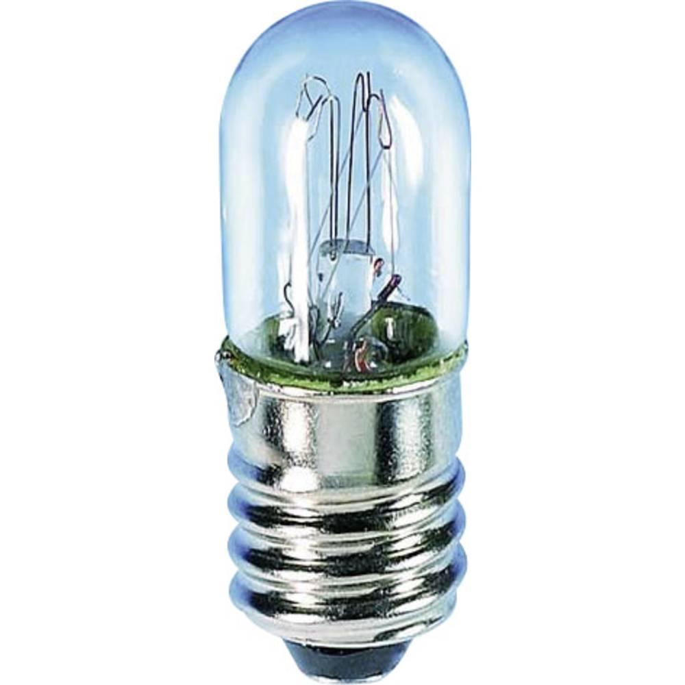 Lestvična žarnica E 10 2 W podnožje=E10 80 mA 24 - 30 V prozorna Barthelme vsebina: 1 kos