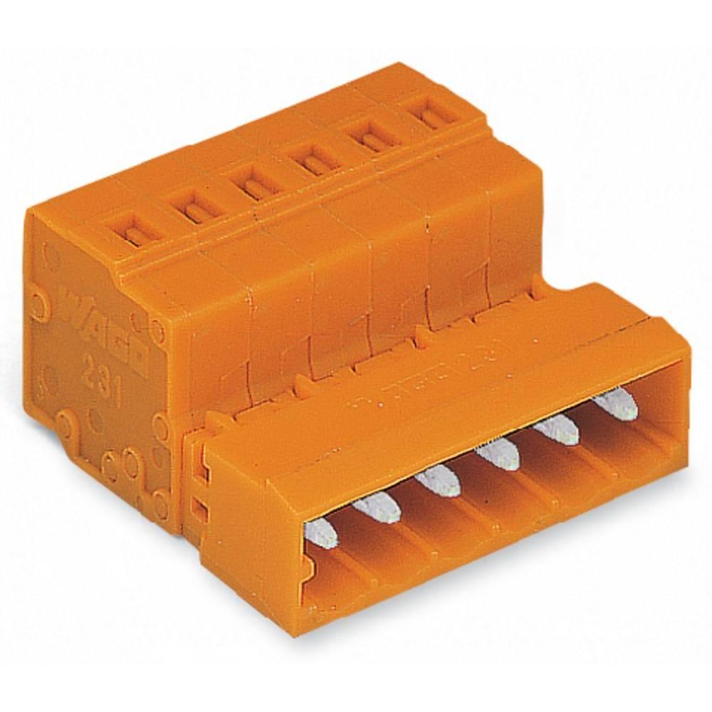 Pinski konektor (Standard) 300 št. polov skupaj 14 WAGO 231-644 mere: 5.08 mm 25 kosov