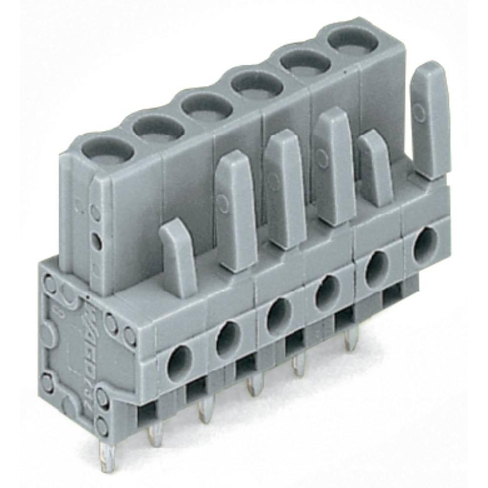 Tilslutningskabinet-printplade 232 (value.1360685) Samlet antal poler 2 WAGO 232-132 Rastermål: 5 mm 100 stk