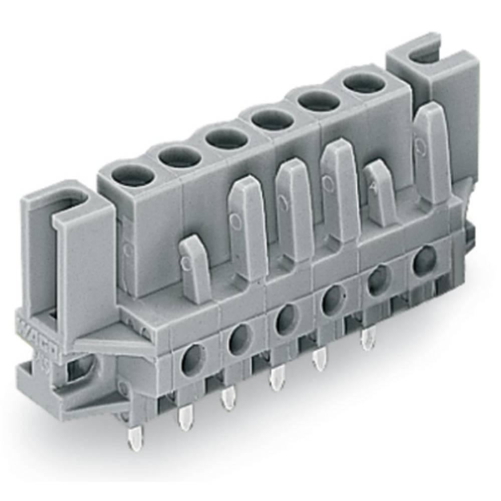 Tilslutningskabinet-printplade 232 (value.1360685) Samlet antal poler 13 WAGO 232-143/047-000 Rastermål: 5 mm 25 stk