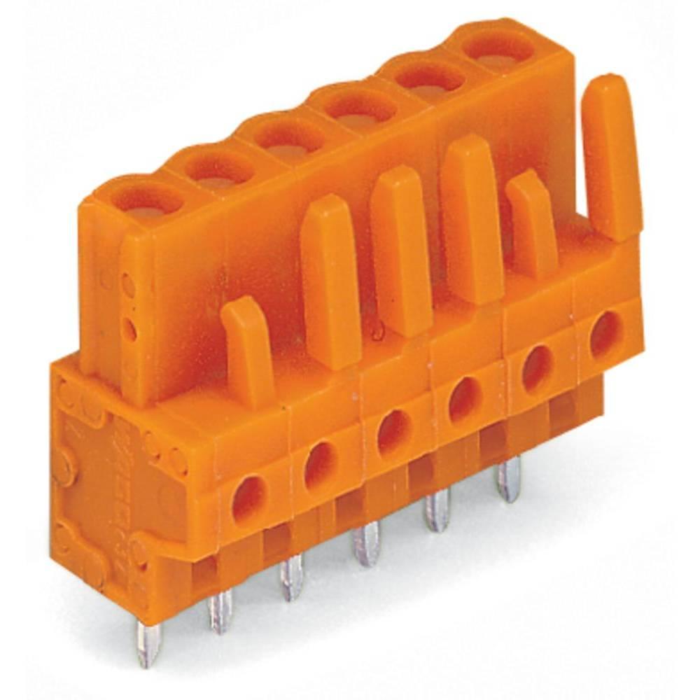 Tilslutningskabinet-printplade 232 (value.1360685) Samlet antal poler 2 WAGO 232-162 Rastermål: 5.08 mm 100 stk
