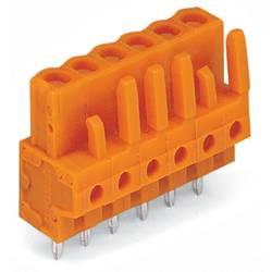 Ohišje vtičnice-tiskano vezje 232 št. polov skupaj 15 WAGO 232-175 mere: 5.08 mm 25 kosov