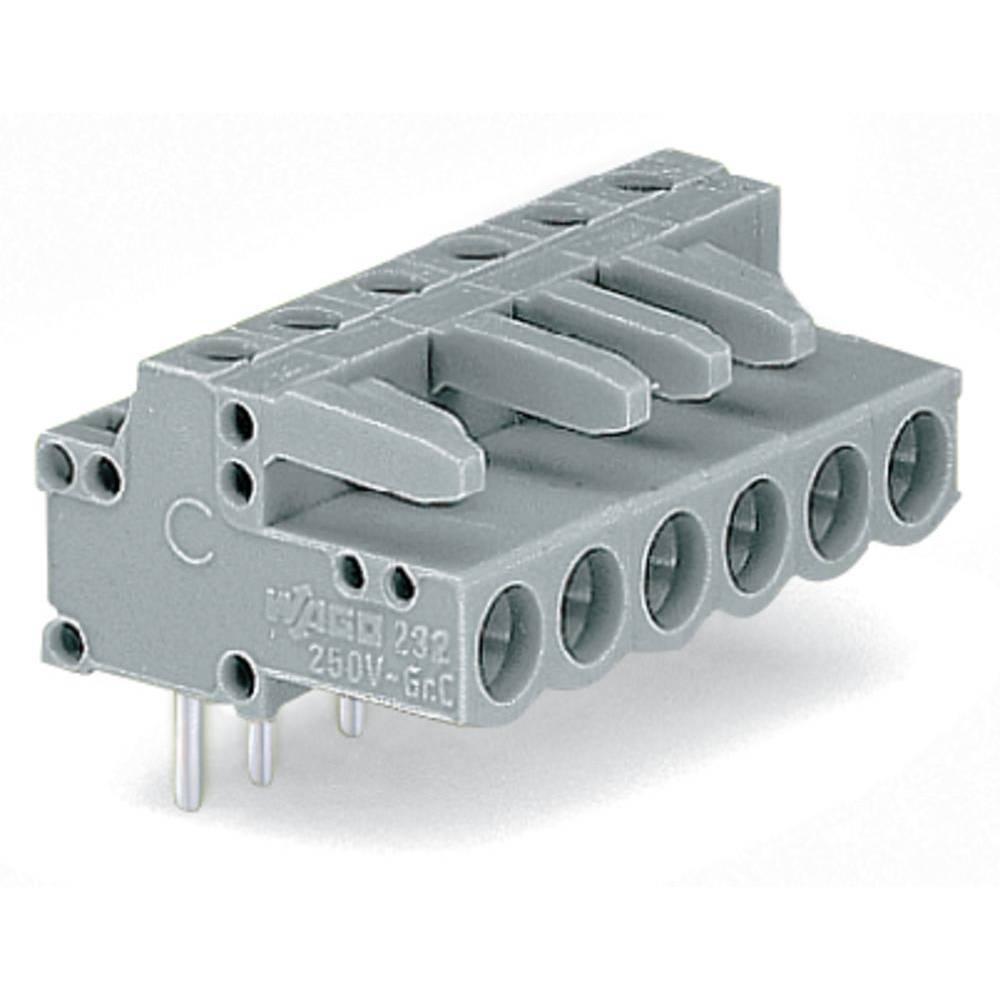 Tilslutningskabinet-printplade 232 (value.1360685) Samlet antal poler 2 WAGO 232-232 Rastermål: 5 mm 200 stk