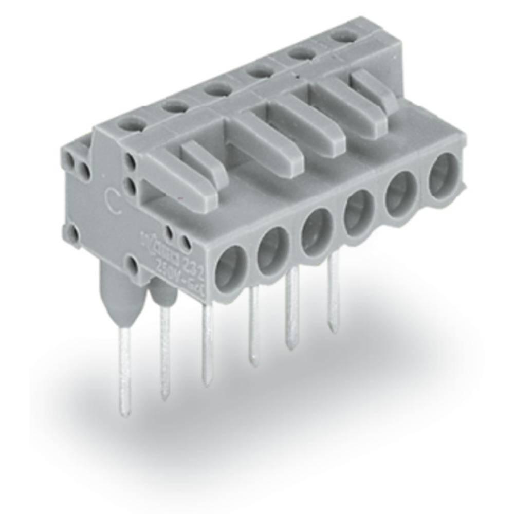 Tilslutningskabinet-printplade 232 (value.1360685) Samlet antal poler 3 WAGO 232-233/005-000 Rastermål: 5 mm 100 stk