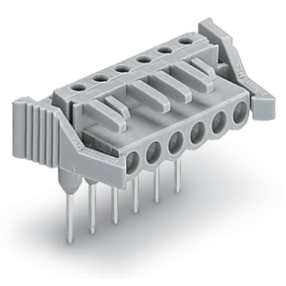Tilslutningskabinet-printplade 232 (value.1360685) Samlet antal poler 5 WAGO 232-235/005-000/039-000 Rastermål: 5 mm 50 stk