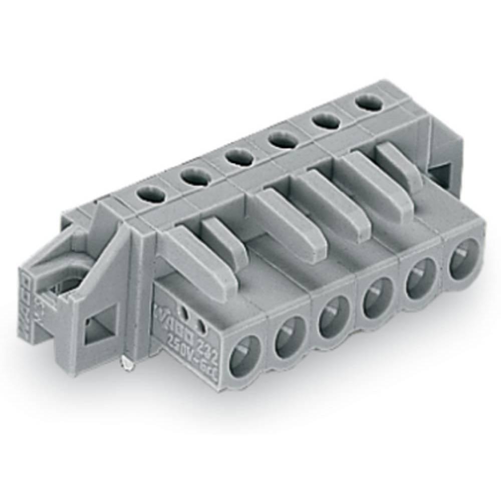 Tilslutningskabinet-printplade 232 (value.1360685) Samlet antal poler 8 WAGO 232-238/031-000 Rastermål: 5 mm 50 stk