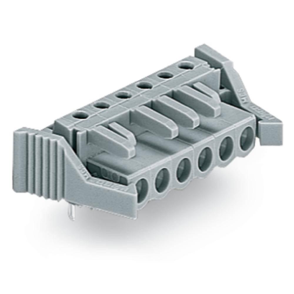 Tilslutningskabinet-printplade 232 (value.1360685) Samlet antal poler 18 WAGO 232-248/039-000 Rastermål: 5 mm 10 stk