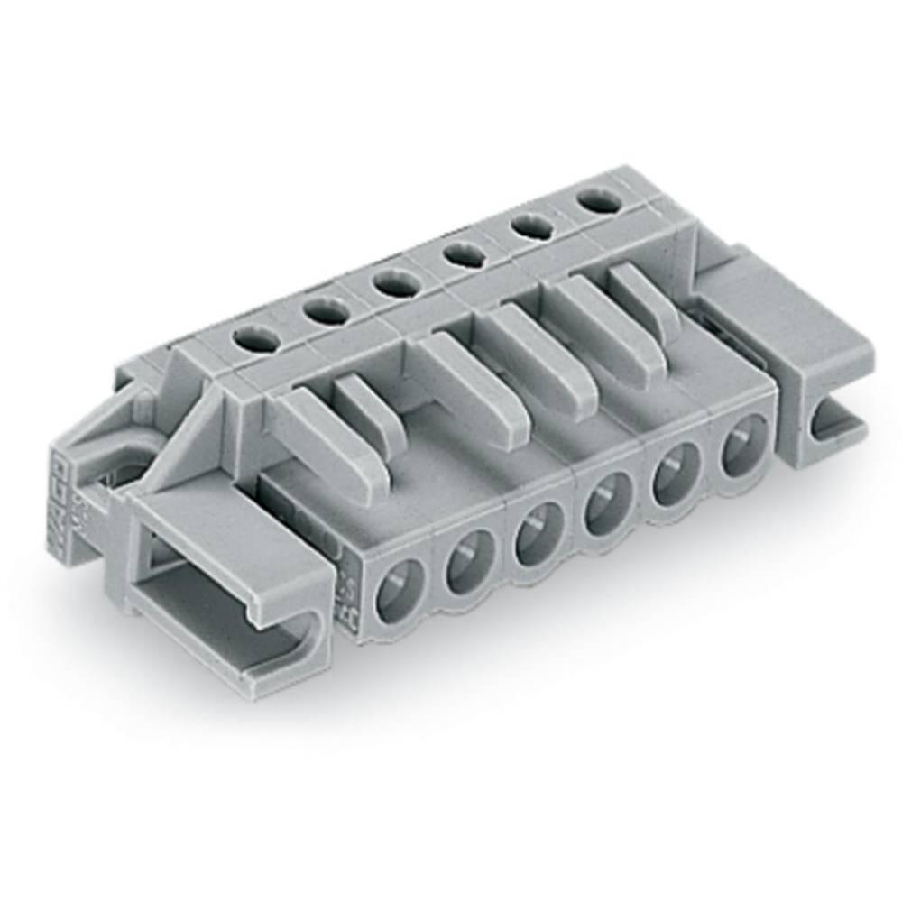 Tilslutningskabinet-printplade 232 (value.1360685) Samlet antal poler 4 WAGO 232-234/047-000 Rastermål: 5 mm 50 stk
