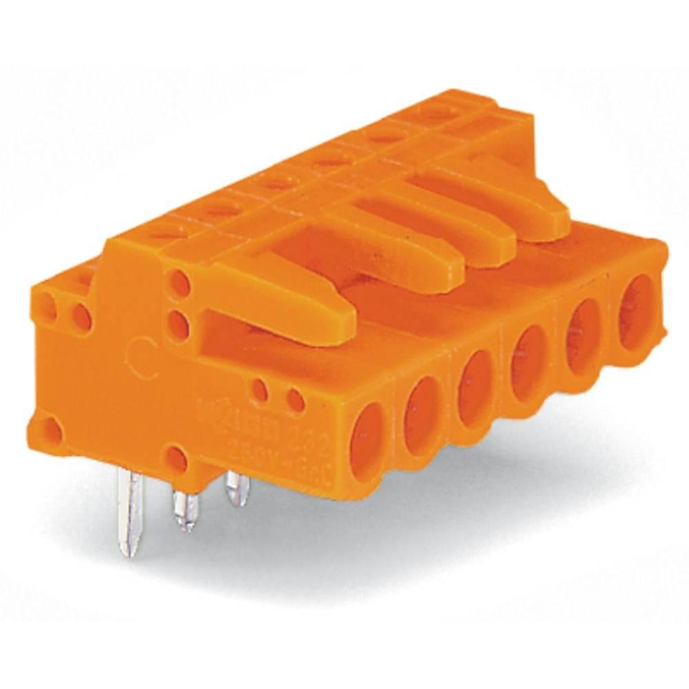 Tilslutningskabinet-printplade 232 Samlet antal poler 10 WAGO 232-270 Rastermål: 5.08 mm 50 stk
