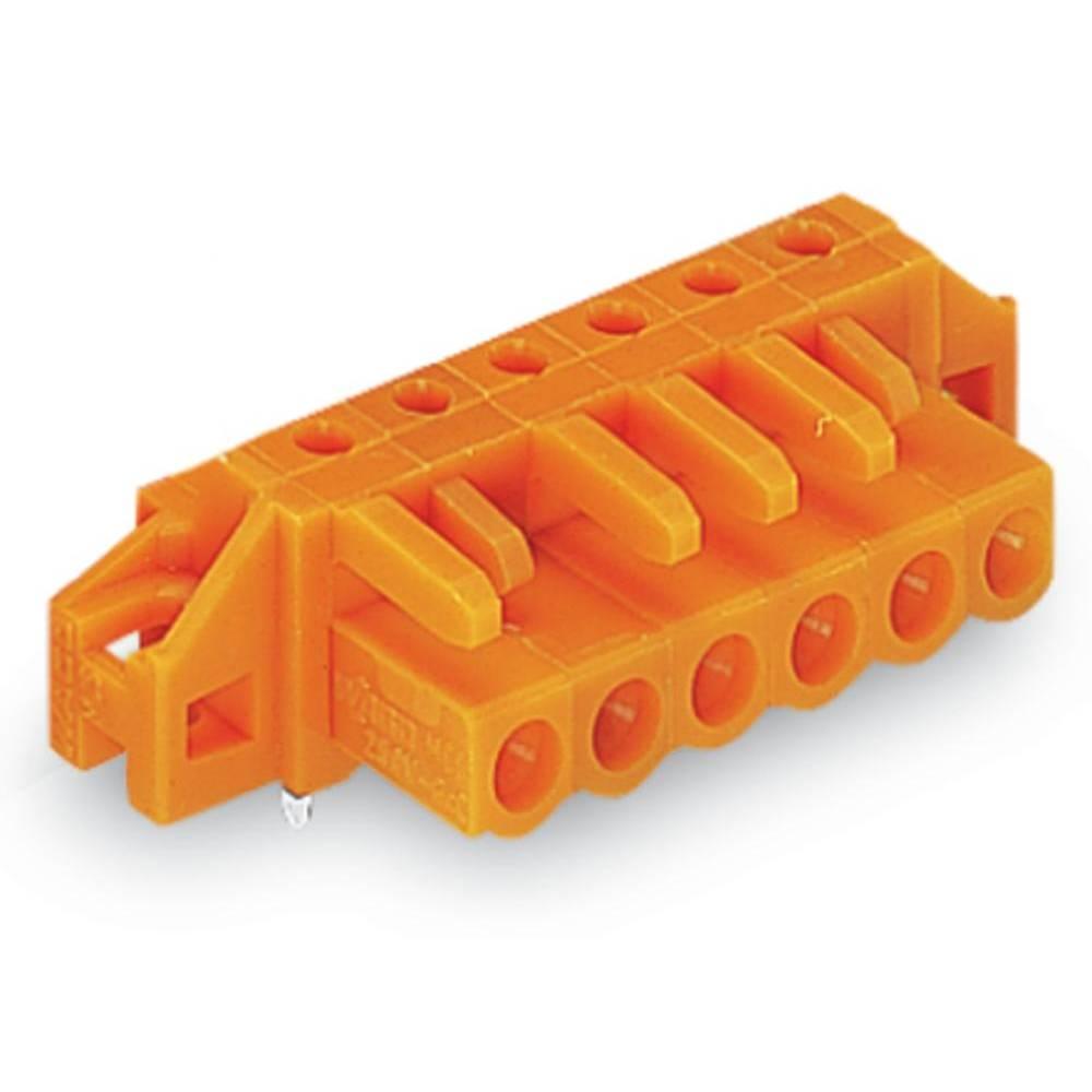 Tilslutningskabinet-printplade 232 (value.1360685) Samlet antal poler 8 WAGO 232-268/031-000 Rastermål: 5.08 mm 50 stk