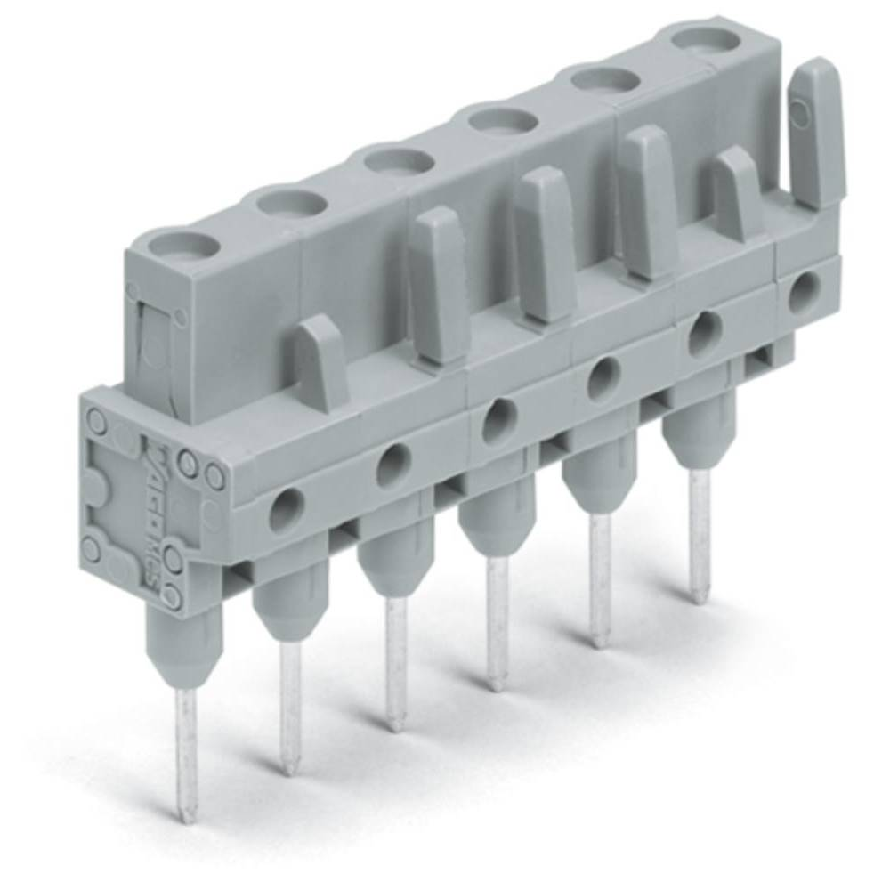 Tilslutningskabinet-printplade 232 (value.1360685) Samlet antal poler 8 WAGO 232-738/005-000 Rastermål: 7.50 mm 25 stk