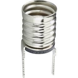 Podnožje žarnice: E10 priključek: spajkalni zatič TRU COMPONENTS 1 kos