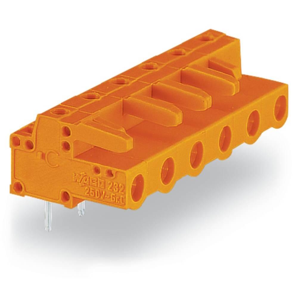 Tilslutningskabinet-printplade 232 (value.1360685) Samlet antal poler 12 WAGO 232-872 Rastermål: 7.62 mm 25 stk