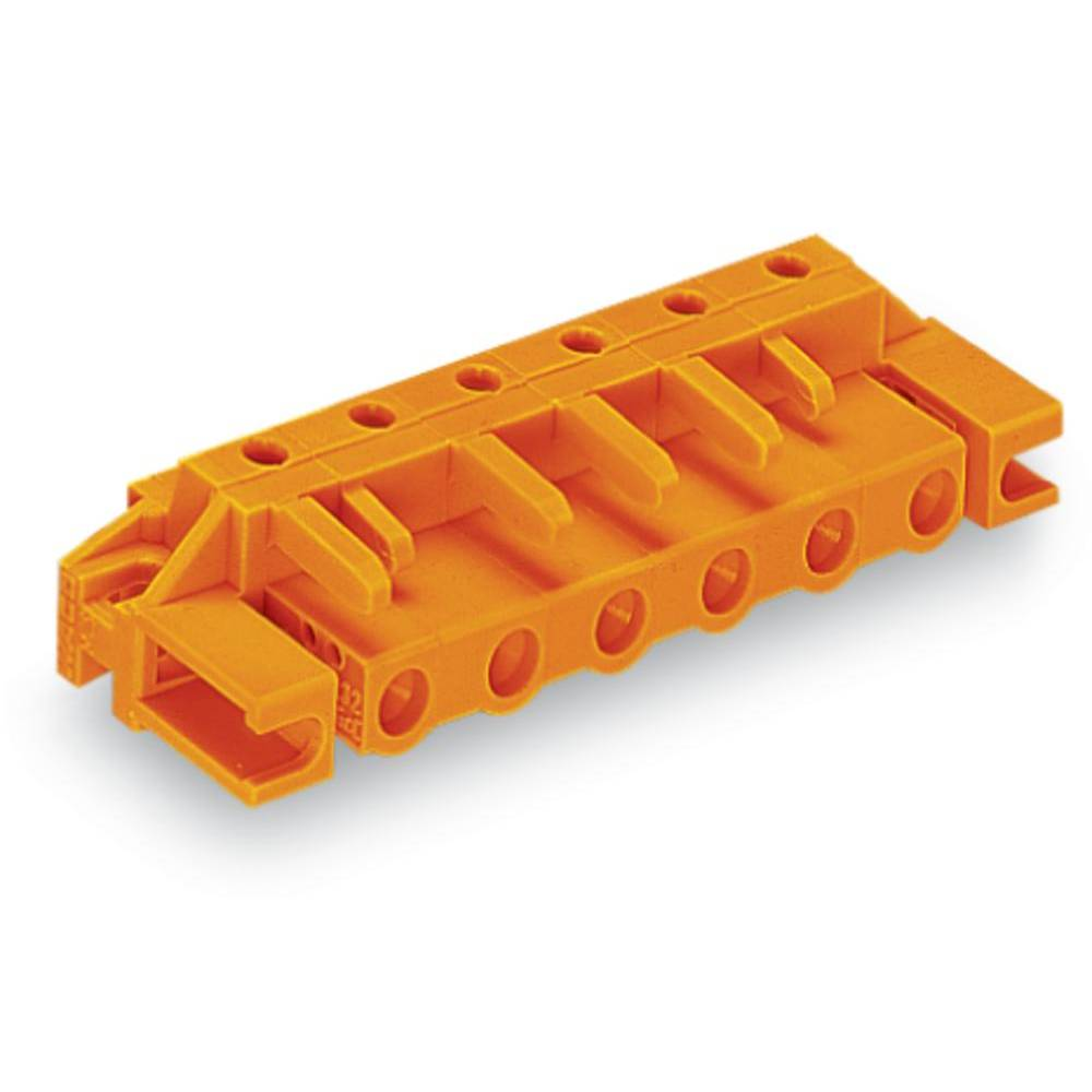 Tilslutningskabinet-printplade 232 (value.1360685) Samlet antal poler 3 WAGO 232-863/047-000 Rastermål: 7.62 mm 50 stk