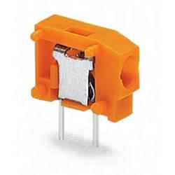Vzmetni priključni blok 0.75 mm število polov: 1 235-101/330-000 WAGO oranžne barve 800 kosov