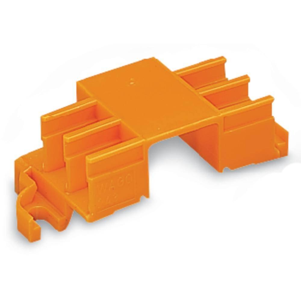 Fastgørelsesadapter WAGO 243-113 Orange 50 stk