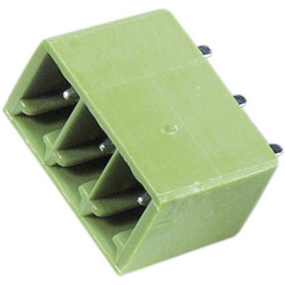 Stiftkabinet-printplade STL(Z)1550 Samlet antal poler 4 PTR 51550045125F Rastermål: 3.81 mm 1 stk