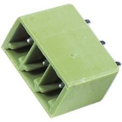Stiftkabinet-printplade STL(Z)1550 (value.1360801) Samlet antal poler 3 PTR STL1550/3G-3.5-V-GRUEN Rastermål: 3.50 mm 1 stk