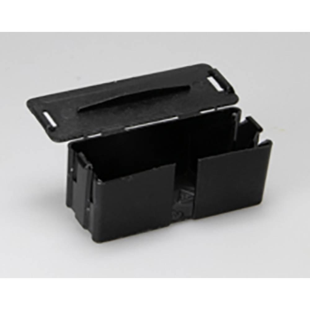 Priključno ohišje Adels-Contact LCB za lestenčno sponko tipa500, črne barve 542162