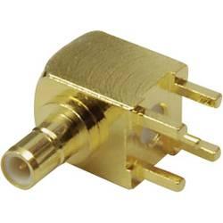 SMB-stikforbindelse BKL Electronic 0411030 50 Ohm Stik, indbygning lodret 1 stk