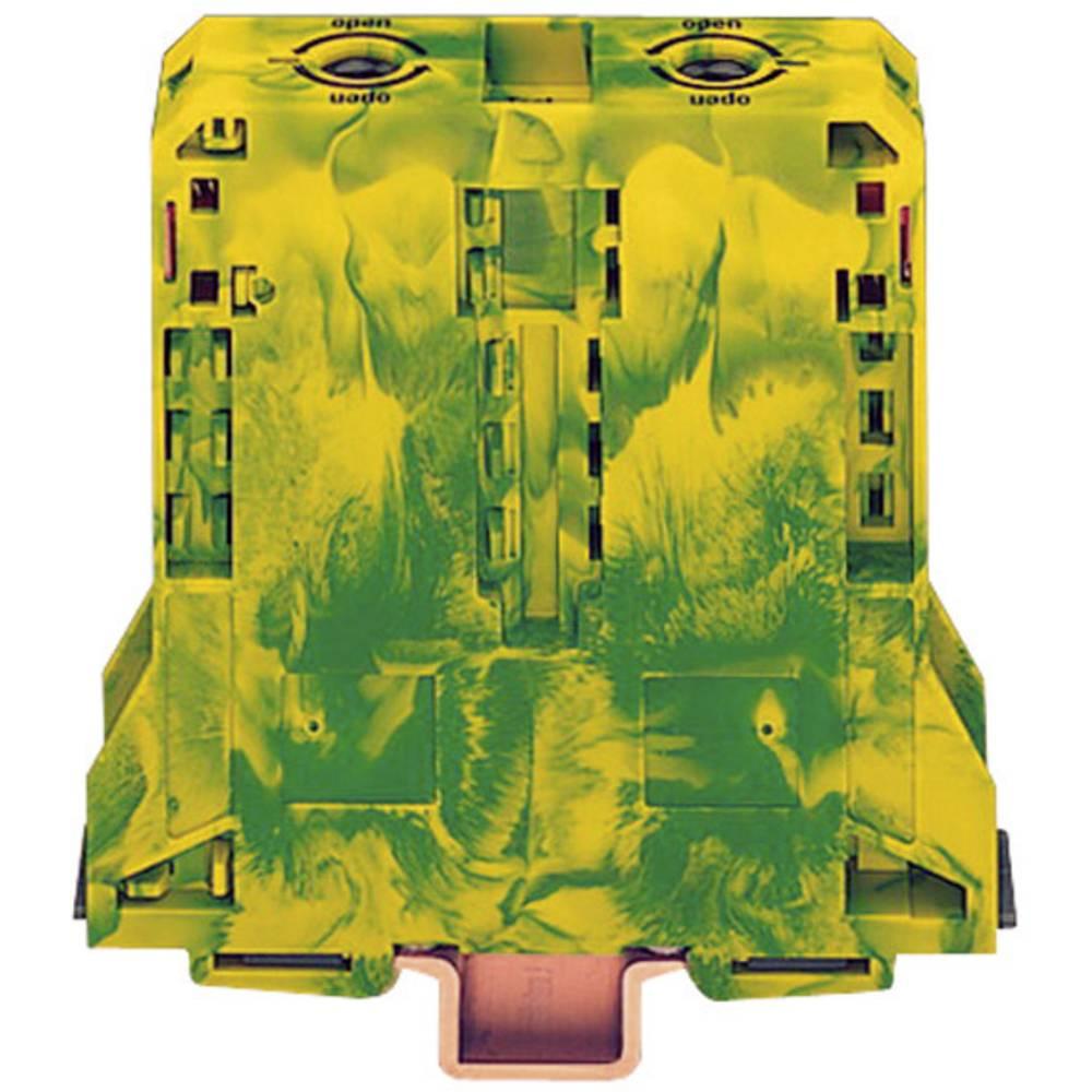 Jordklemme 25 mm Trækfjeder Belægning: Terre Grøn-gul WAGO 285-197 1 stk