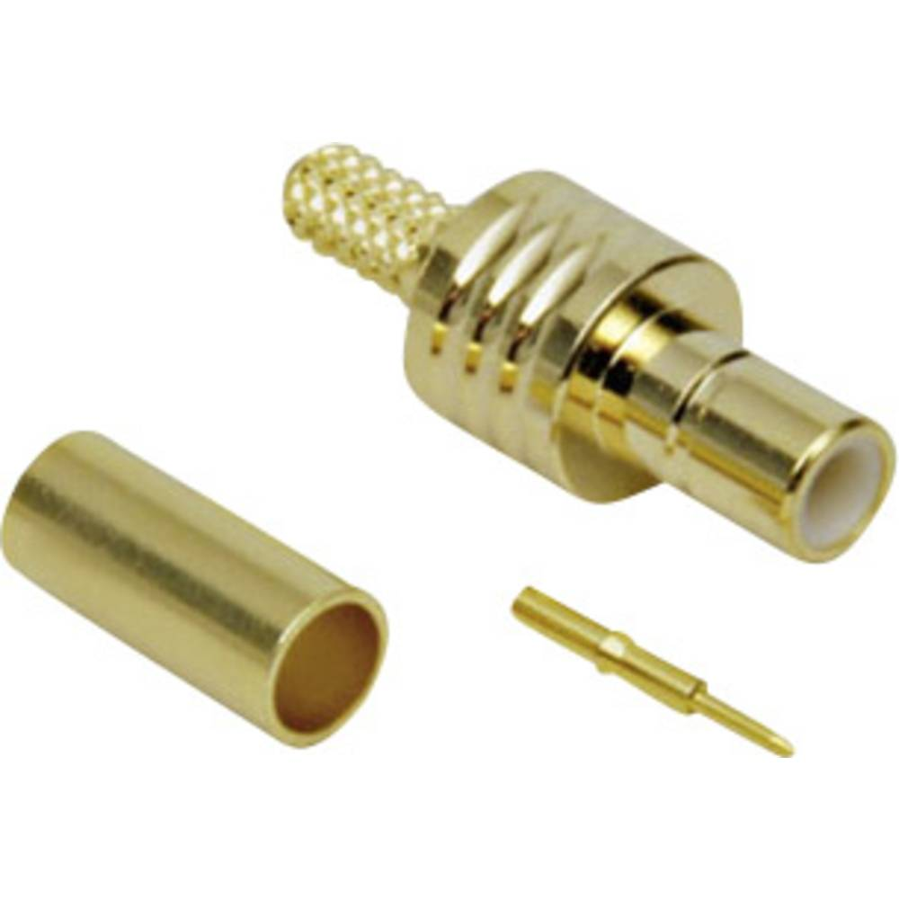SMB-stikforbindelse BKL Electronic 0411003 50 Ohm Stik, lige 1 stk