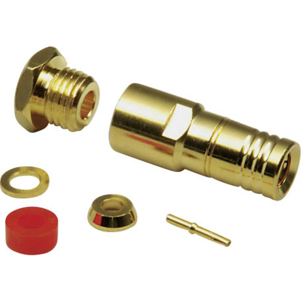 SMB-stikforbindelse BKL Electronic 0411015 50 Ohm Tilslutning, lige 1 stk