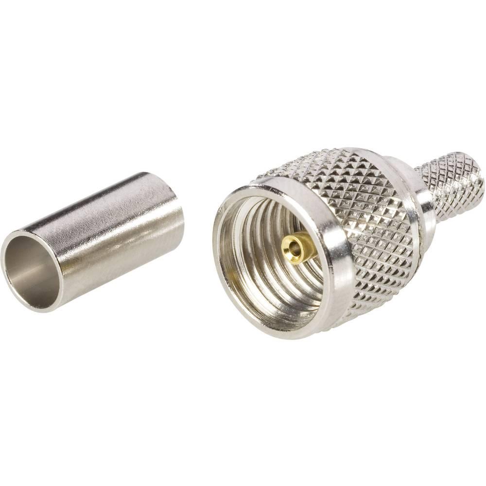 Konektor Mini UHF za stiskanjemoški konektor za stiskanjeBKLElectronic 0407000/D BKL Electronic