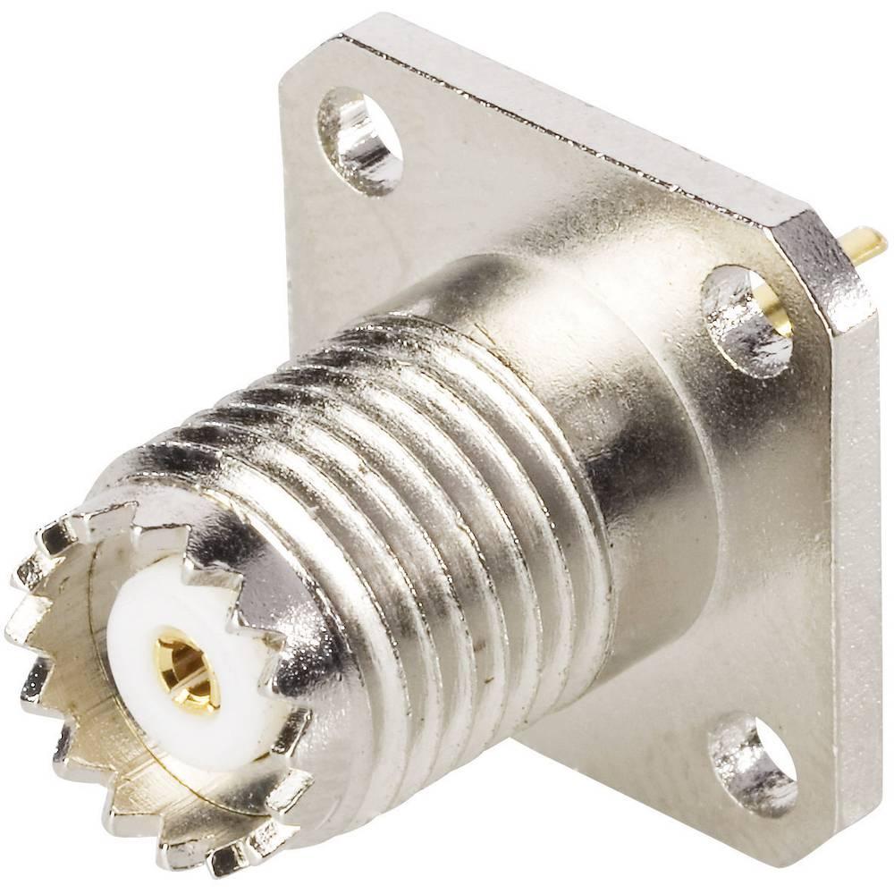 Vgradni ženski konektor Mini UHF vgradni ženski konektor UHFBKL Electronic 407029