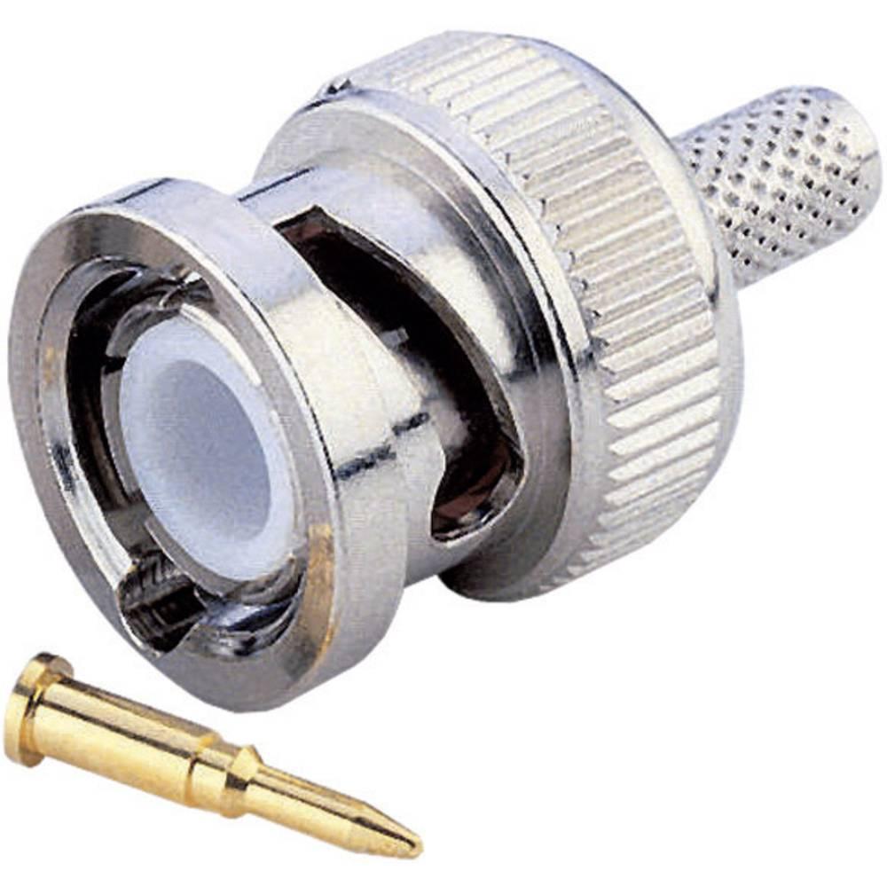 BNC-stikforbindelse BKL Electronic 0401250 50 Ohm Stik, lige 1 stk
