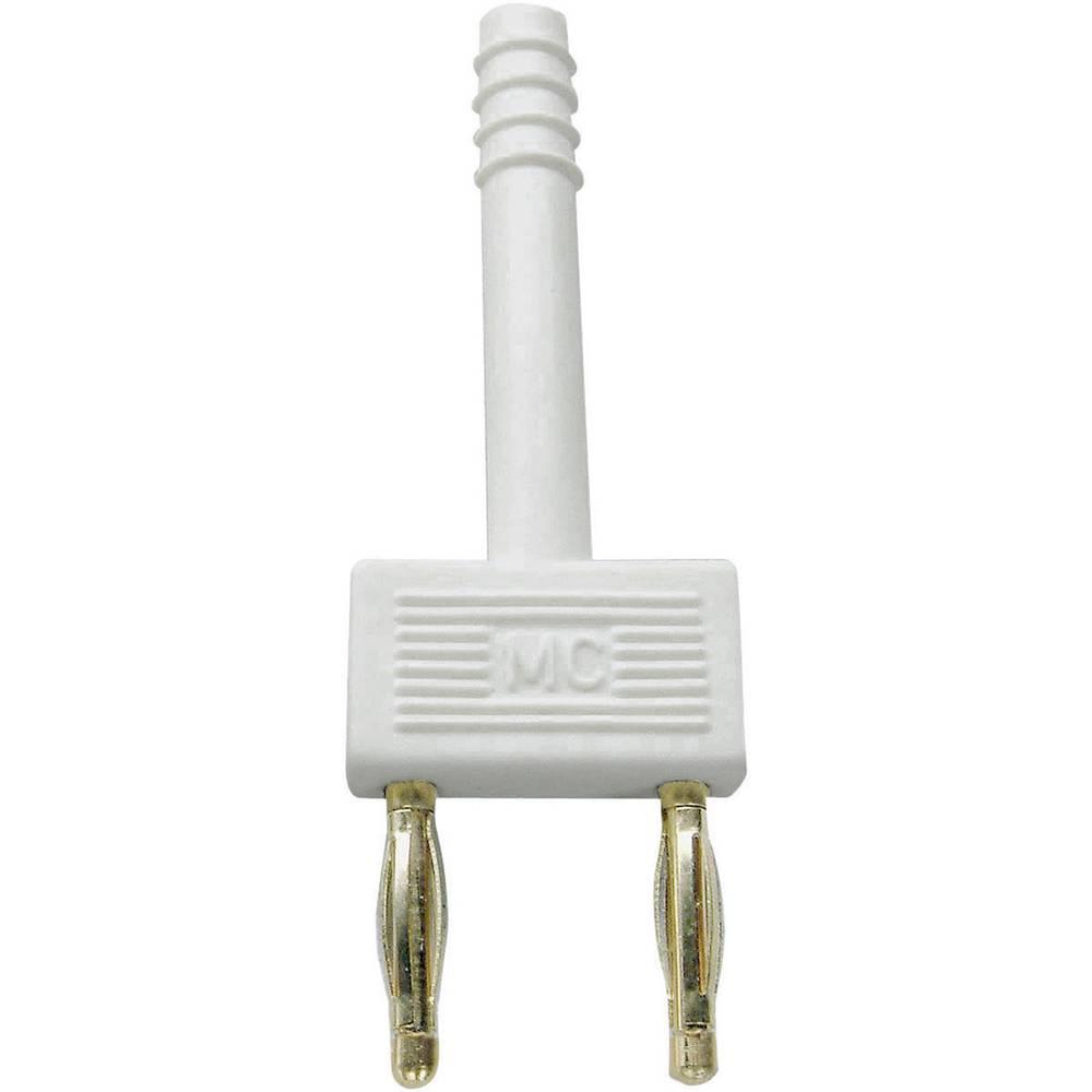 Sikrings-stik Stäubli KS2-10L Stift-diameter: 2 mm 10 mm Hvid 1 stk