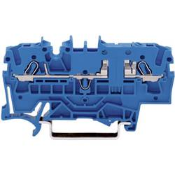 WAGO 2002-1604 2-conductor Through Clamp 0.25 -2.5 mm² Blue 1 pc(s)
