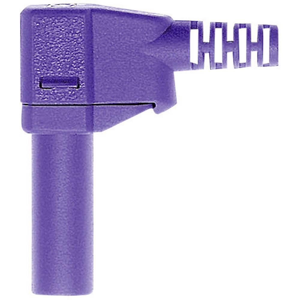 Lamelstik Stik, vinklet Stäubli SLS425-SW 4 mm Violet 1 stk