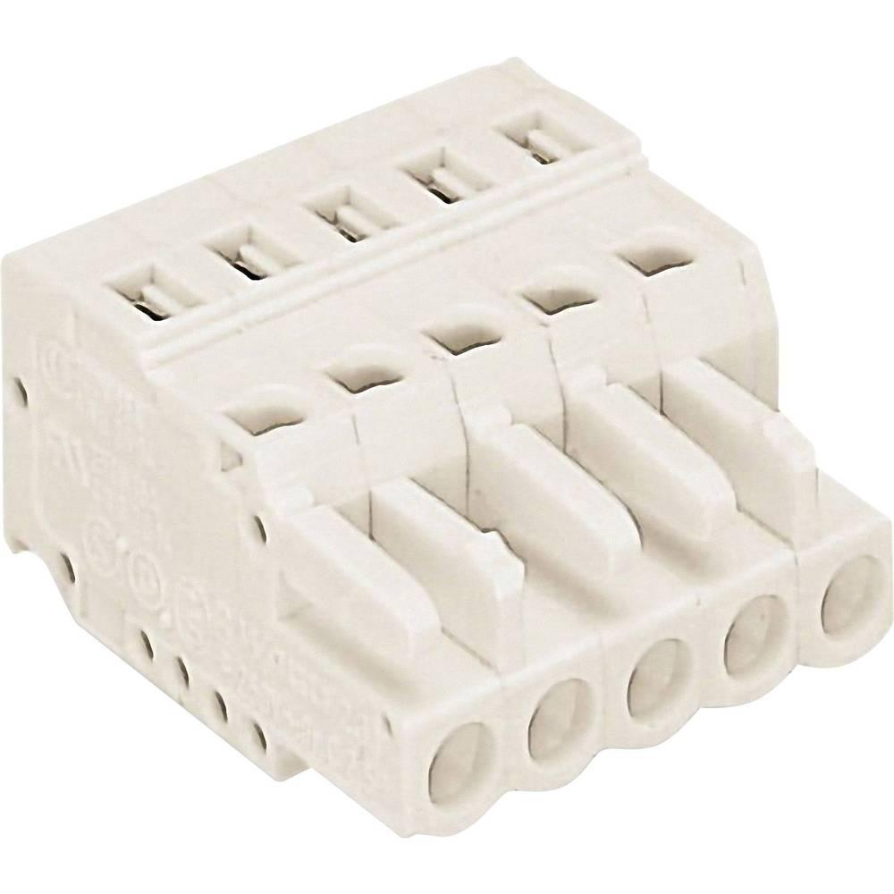 Tilslutningskabinet-kabel 721 (value.1361061) Samlet antal poler 2 WAGO 721-102/026-000 Rastermål: 5 mm 1 stk